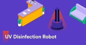 Robotti julkisten tilojen desinfiointiin - COVID-19